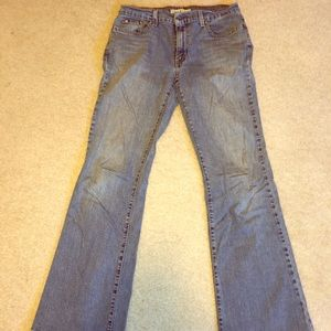 Tommy Hilfiger Low rise flare jeans.